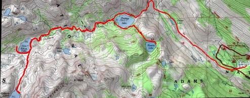 Backpacking trip in Ansel Adams wilderness - Ediza, Iceberg, & Rosalie lakes!