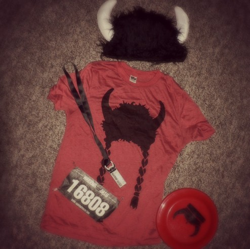 Warrior Dash Tee plus extras