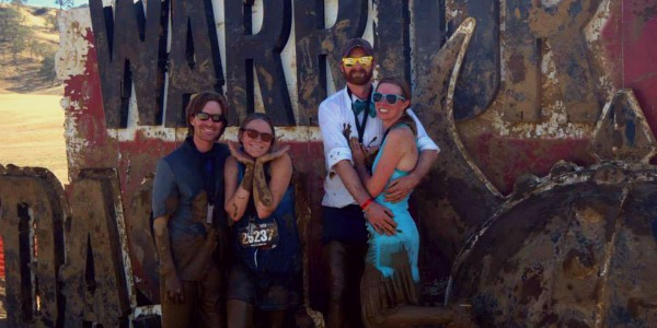 Warrior Dash with Costumes