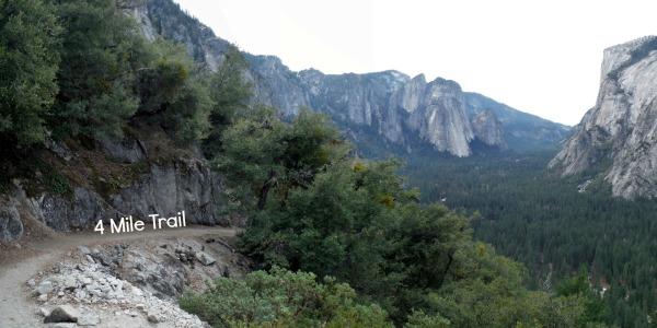 4 mile trail - Yosemite