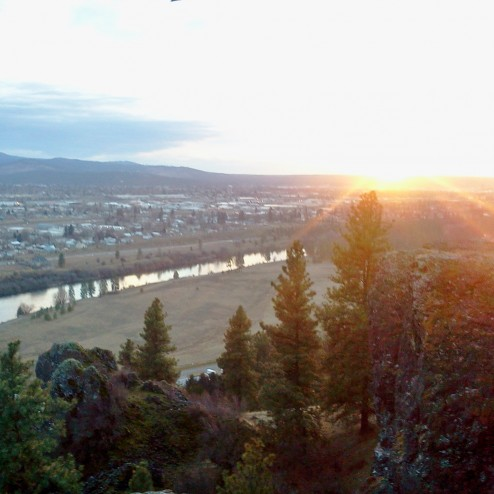"View of Spokane from the ""Eagle's Nest"""