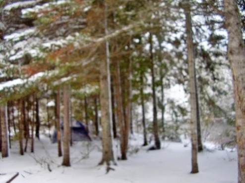 Unexpected winter camping - how to always be prepared