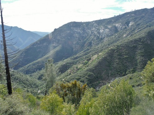 Foresta Road - open for mountain bikers from Yosemite to El Portal