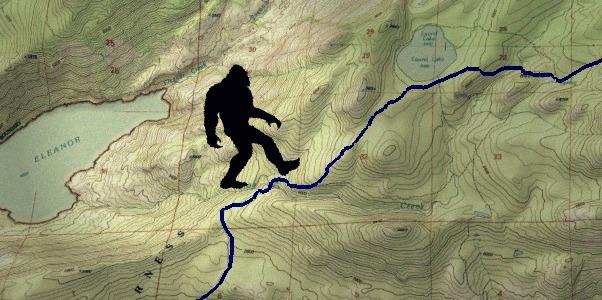 Bigfoot Legend in Yosemite