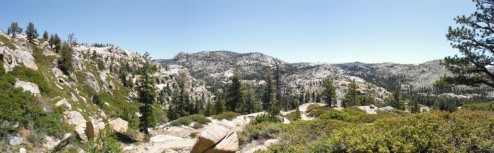 Hiking in the Emigrant Wilderness, CA
