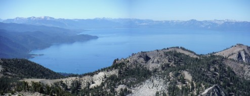 Relay Peak Tahoe View