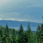 Lake Tahoe under Summer Storm Clouds