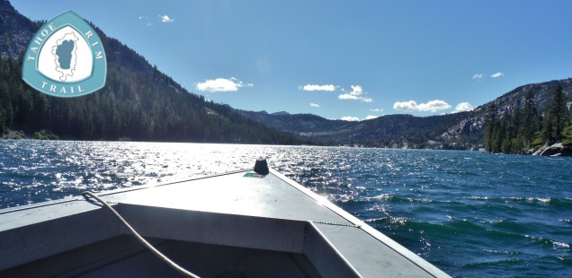 Water Taxi Across Echo Lake - Tahoe Rim Trail