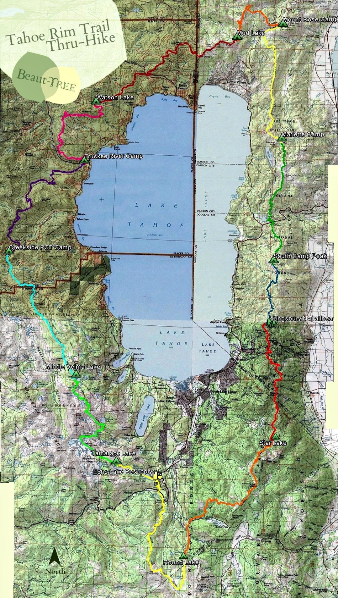 TRT Topo Map – Beaut-Tree net