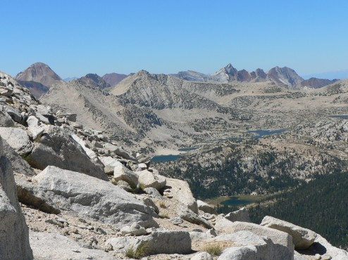 Pioneer Lakes Basin, John Muir Wilderness CA