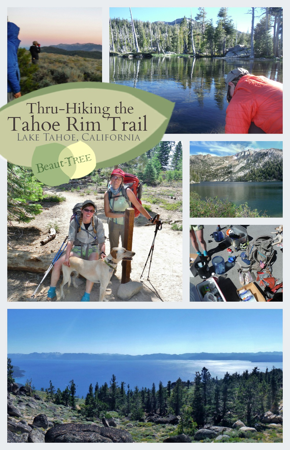 Thru-Hiking the Tahoe Rim Trial
