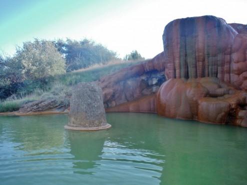 Shallow Pool Mystic Hot Springs UT