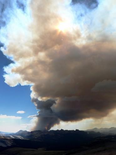 Yosemite Meadow Fire
