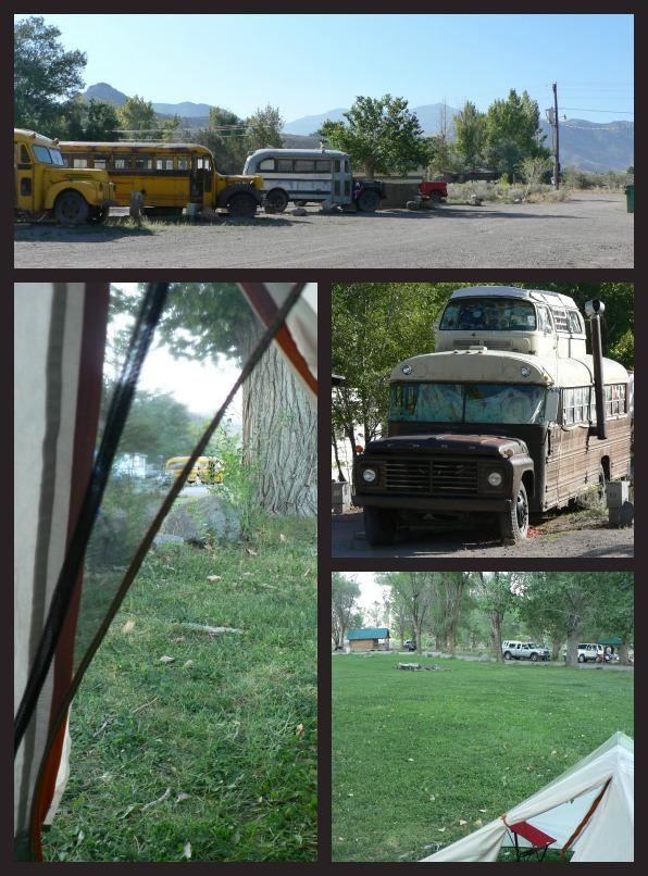 Camping Mystic Hot Springs UT