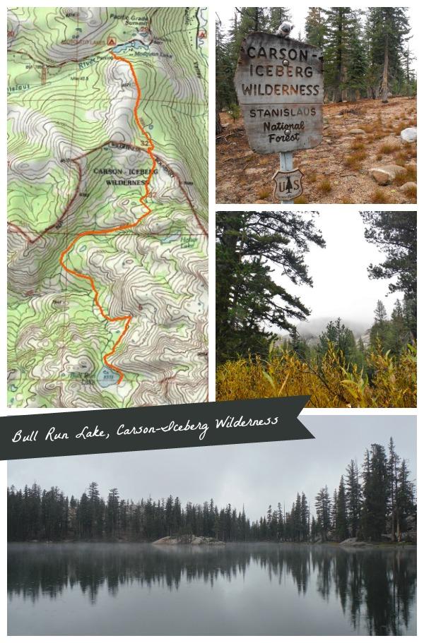 Hiking Bull Run Lake Map