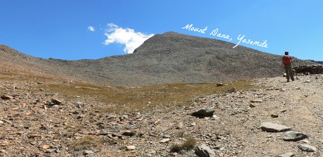 Hiking Mount Dana