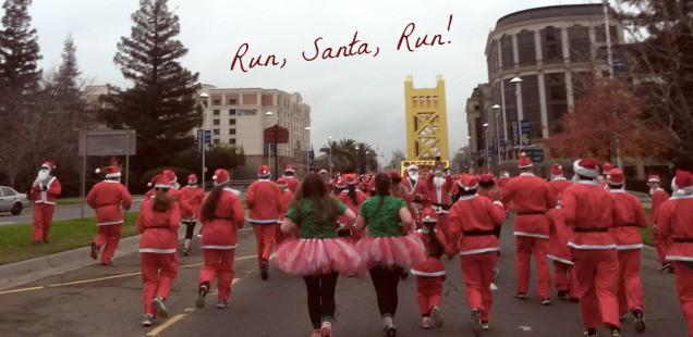 Santa Run Sacramento