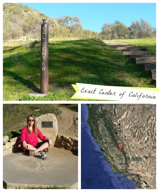 Exact Center of California