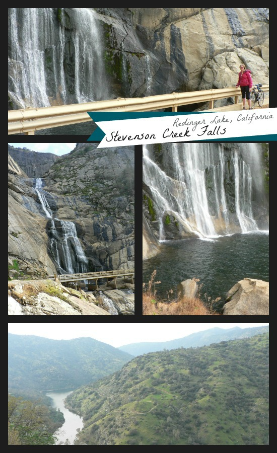 Million Dollar Road, Redinger Lake, Steverson Falls, and the San Joaquin River Canyon