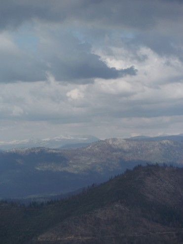 View from Pilot Peak towards Yosemite