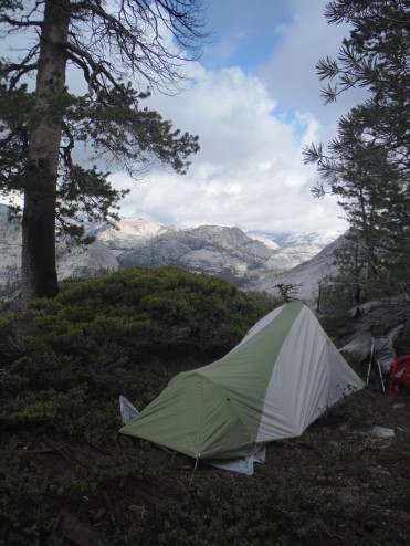 Camp Near Styx Pass, Stanislaus National Forest - Groveland (!) Ranger District