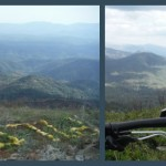 Pilot Peak, Stanislaus NF: Fire lookouts and mountain bikes