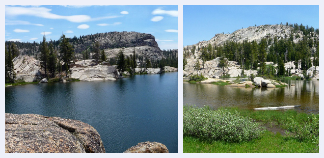 Emigrant Wilderness Trifecta: Burst Rock, Powell and Chewing Gum Lakes