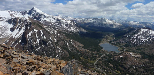 Tioga Peak, Tioga Pass Mountain