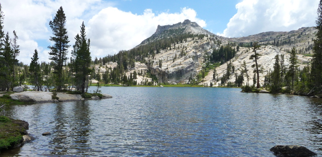 Upper Cathedral Lake, Yosemite: A Chilly Stop on the John Muir Trail