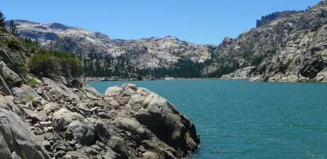 Relief Reservoir, Sonora Pass