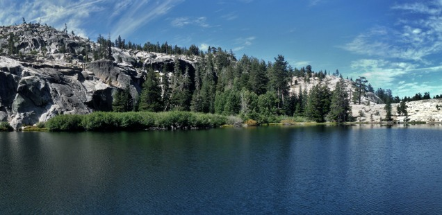 Shealor Lakes, Eldorado NF: Hike, then jump, into this perfect swimming lake