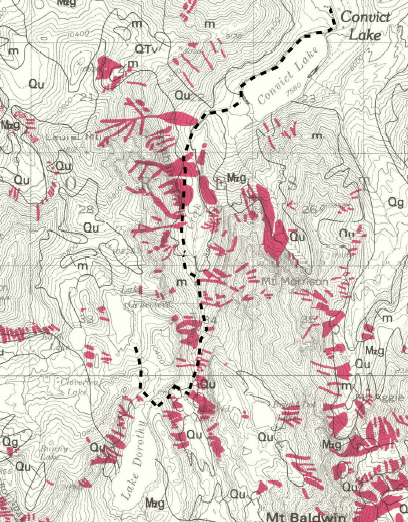 1980 USGS Map Landslides - Section