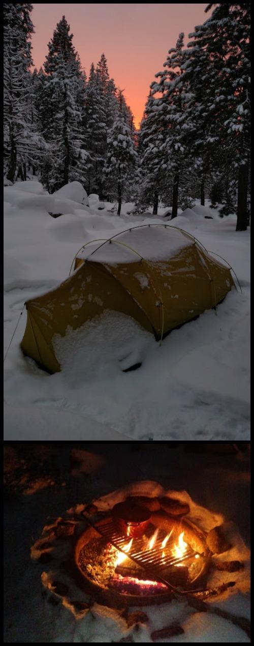 Winter Camp in Sequpia