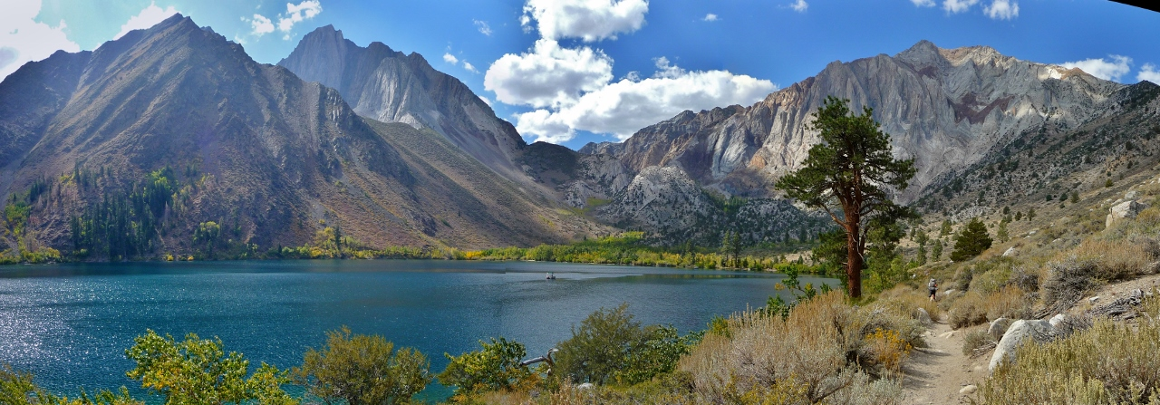 Convict Lake on Convict Creek Trail
