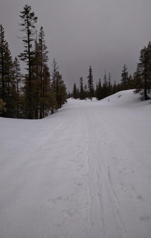 Chaos Jumbles Ski Trail