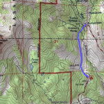 Lassen Sulpher Works Ski map