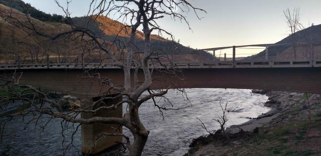 Old Parrotts Ferry Bridge