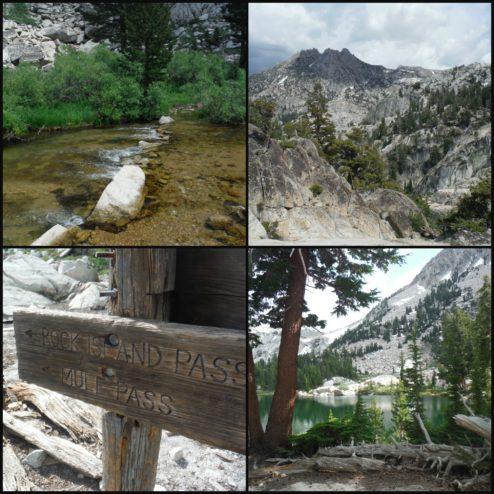 Hiking on up - to Crown Lake!
