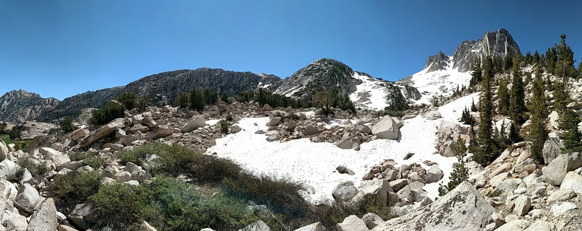 Mule Pass, Yosemite and Hoover Wilderness