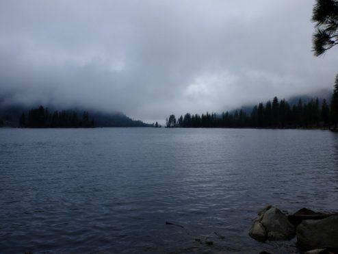 Lake Eleanor in the Rain