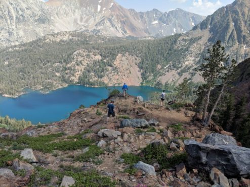 Backpacking Virginia Lakes to Green Creek – Day 2 to West